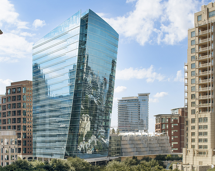 UPTOWN DALLAS ICON MCKINNEY & OLIVE EARNS BOMA 360